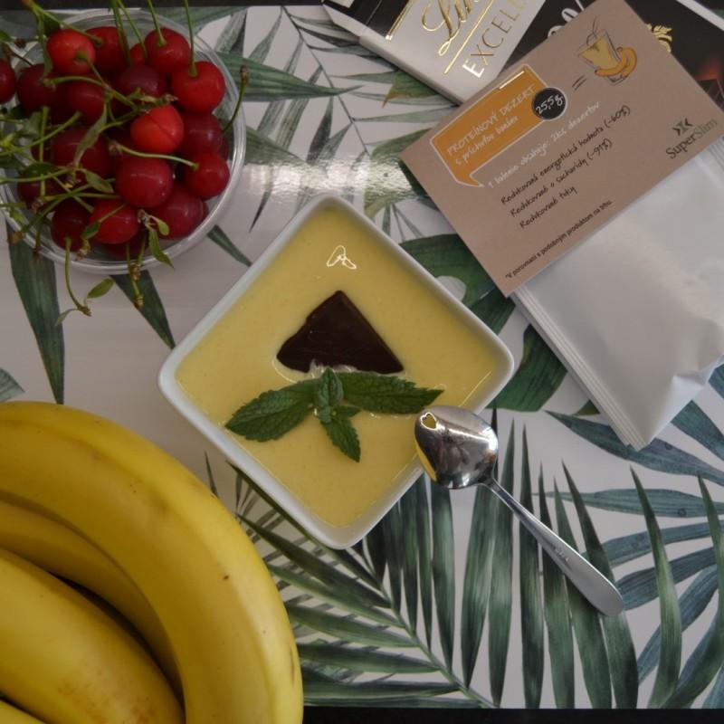 Banánový proteínový dezert 2ks