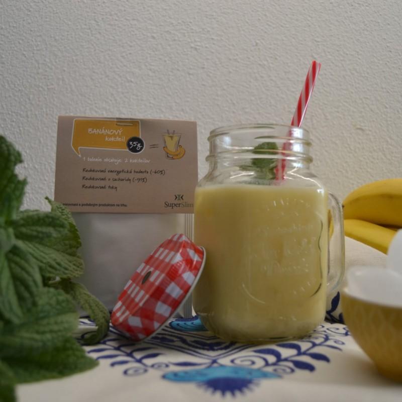 Banánový proteínový koktejl 2ks