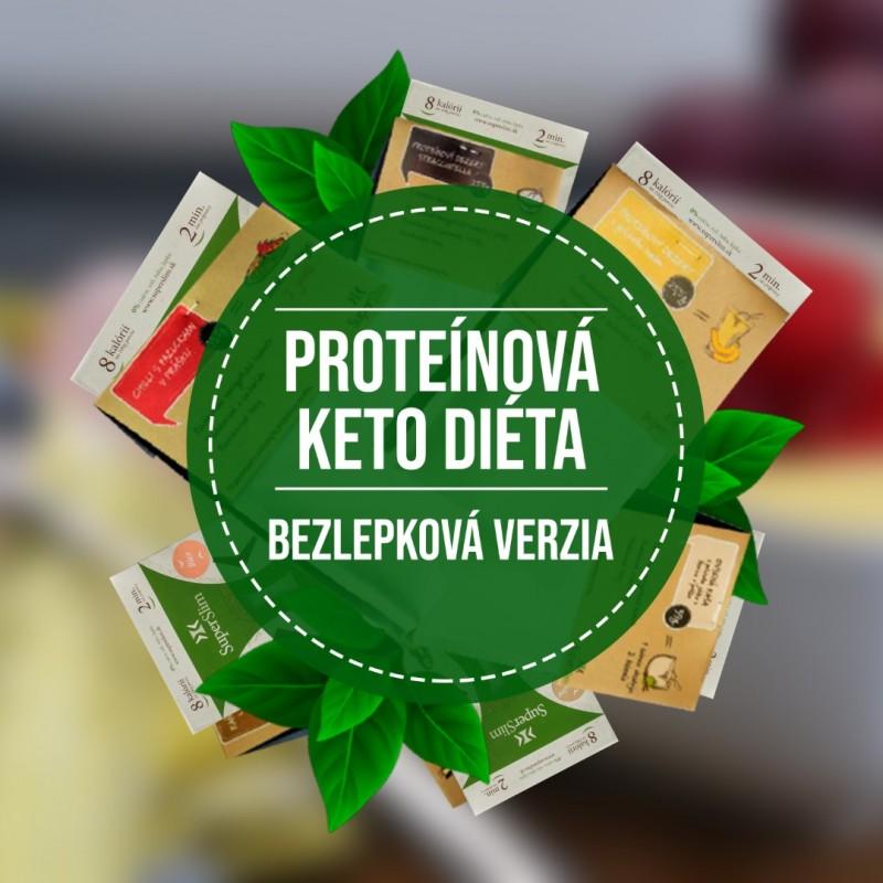 1. FÁZA proteínová KETO diéta